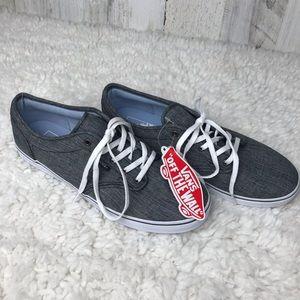 Vans | Dark Grey Rib Knit NWT vans Size 8